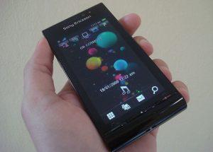 Handy von Sony Ericsson