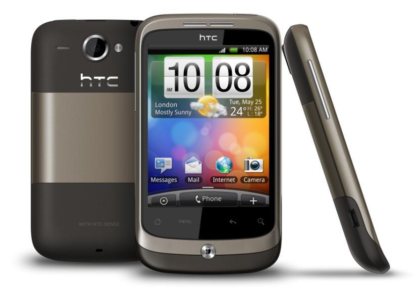 HTC Wildfire Bedienungsanleitung