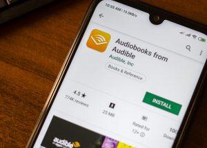 Die Audible-App vorgestellt